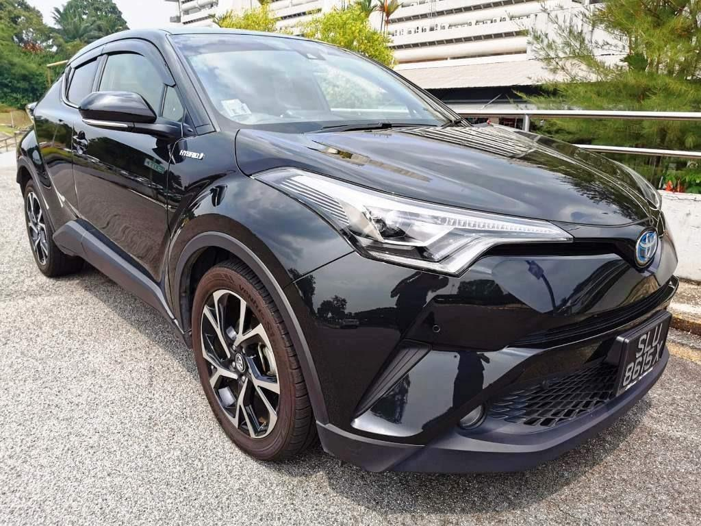 TOYOTA C-HR FOR RENT . GRAB / GO-JEK / PERSONAL USE