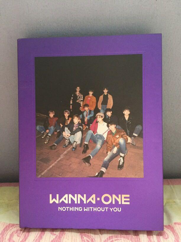 [WTS] WANNA ONE : NOTHING WITHOUT YOU ALBUM (WANNA/Purple Ver)