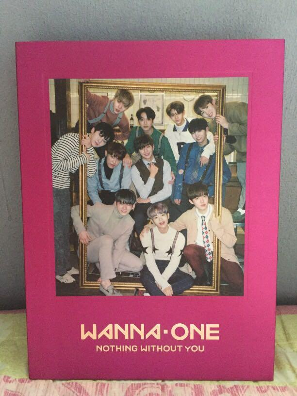 [WTS] WANNA ONE : NOTHING WITHOUT YOU ALBUM (ONE/Pink Ver.)