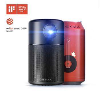 美國NEBULA Capsule 可樂罐微型智能投影機