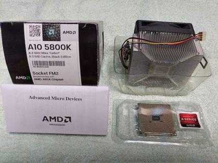 【AMD】處理器 A10 5800K 原廠盒裝