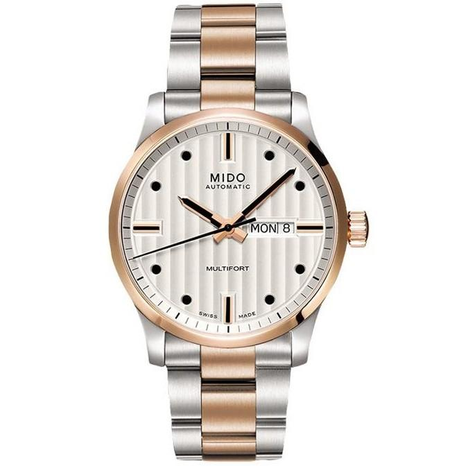 MIDO MULTIFORT SILVER DIAL 42MM AUTOMATIC MEN'S WATCH M005.830.22.031.80 / M005.830.11.051.80 / M005.430.11.031.80 (BRAND NEW IN BOX)