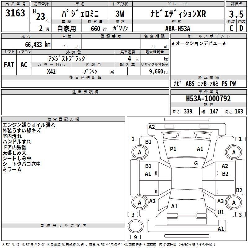 Mitsubishi Pajero Mini Auto