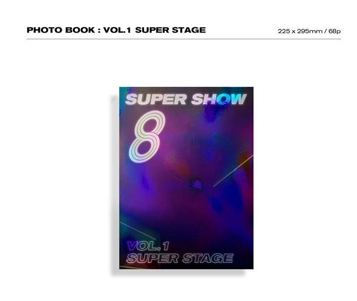 Super Junior Super Show 8 : Infinite time photobook