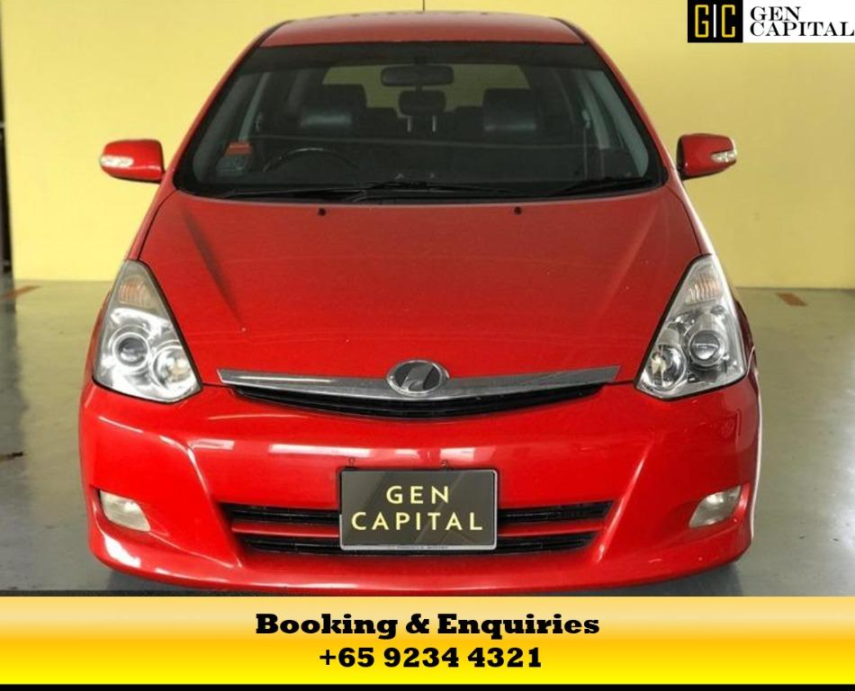 Toyota Wish -  Best way to commute and combat covid 19, chauffeur your family in comfort. Contact us now 9234 4321 or 8818 8998