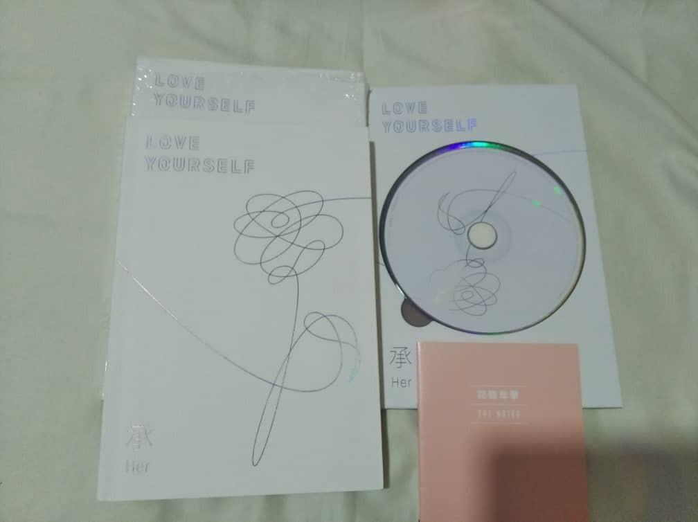 [PRICE REDUCE][WTS]BTS LOVE YOURSELF HER ALBUM O VERSION