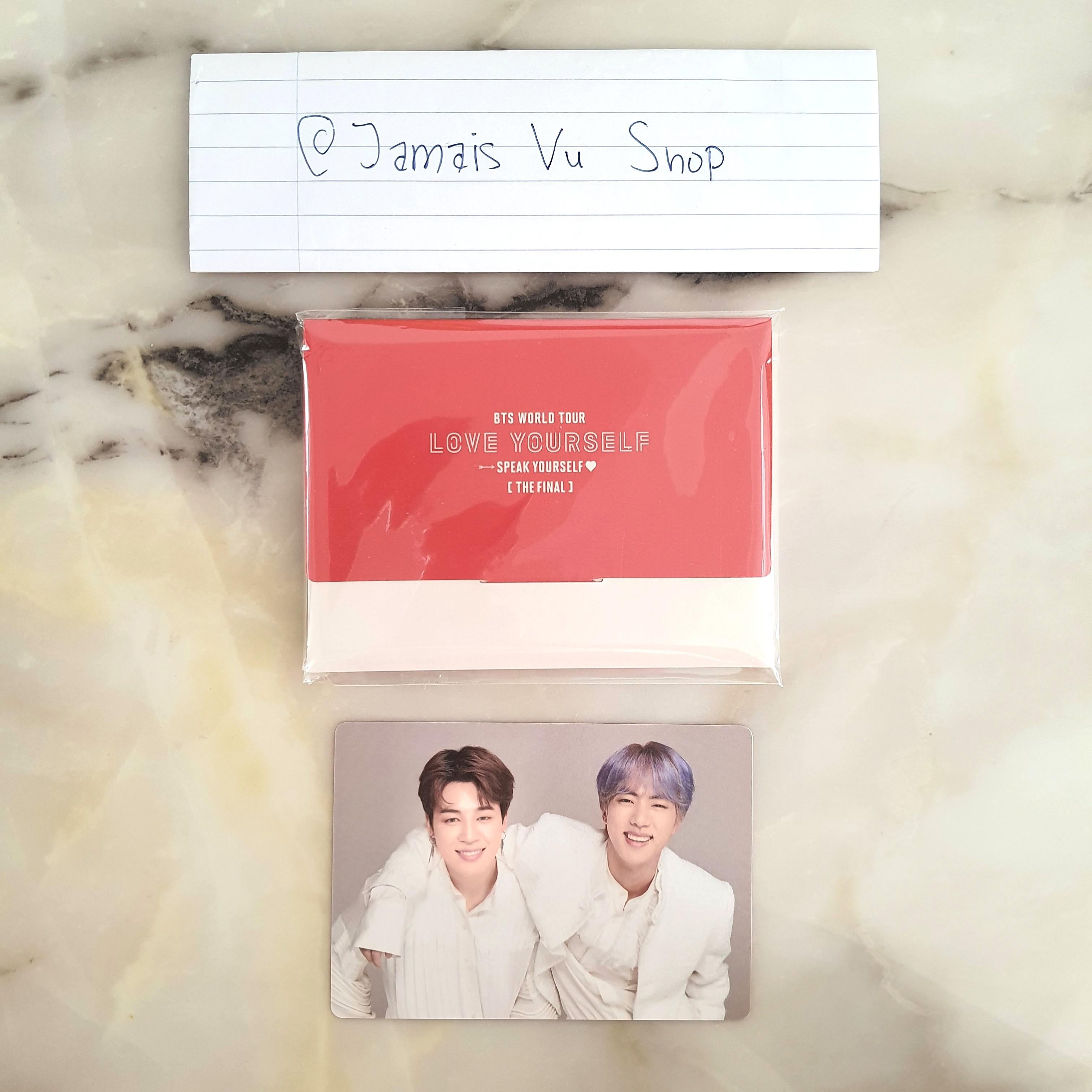 [WTS] BTS SPEAK YOURSELF SY FINAL MD MINI PHOTOCARD 5/6