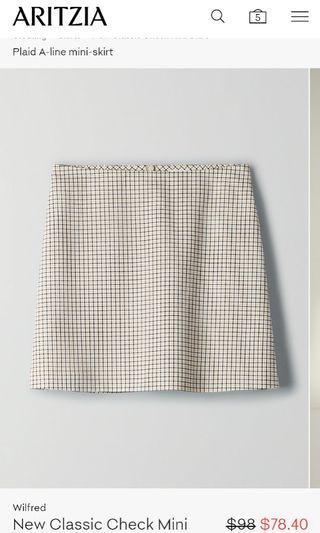 Aritzia Wilfred Skirt 4
