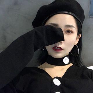 黑色貝雷帽 #時尚#個性#2020年中慶