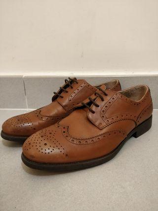 Zara皮鞋