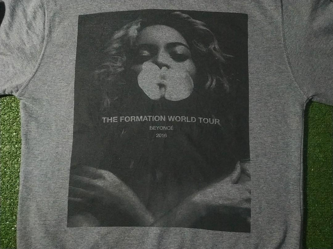 Beyonce Formation World Tour Official Crewneck Sweater no Ariana Grande Justin Bieber H&M Zara Purpose Tour