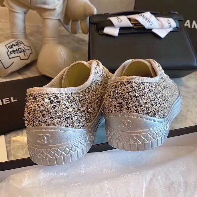 Chanel sneakers, Women's Fashion, Shoes
