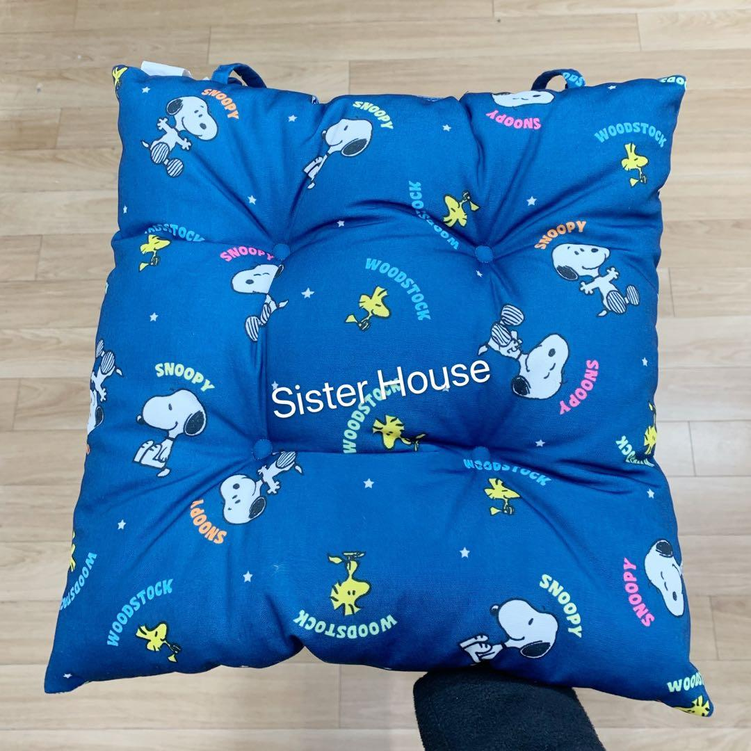 Snoopy Woodstock Sitting Cushion 史路比胡士托座墊咕𠱸 Home