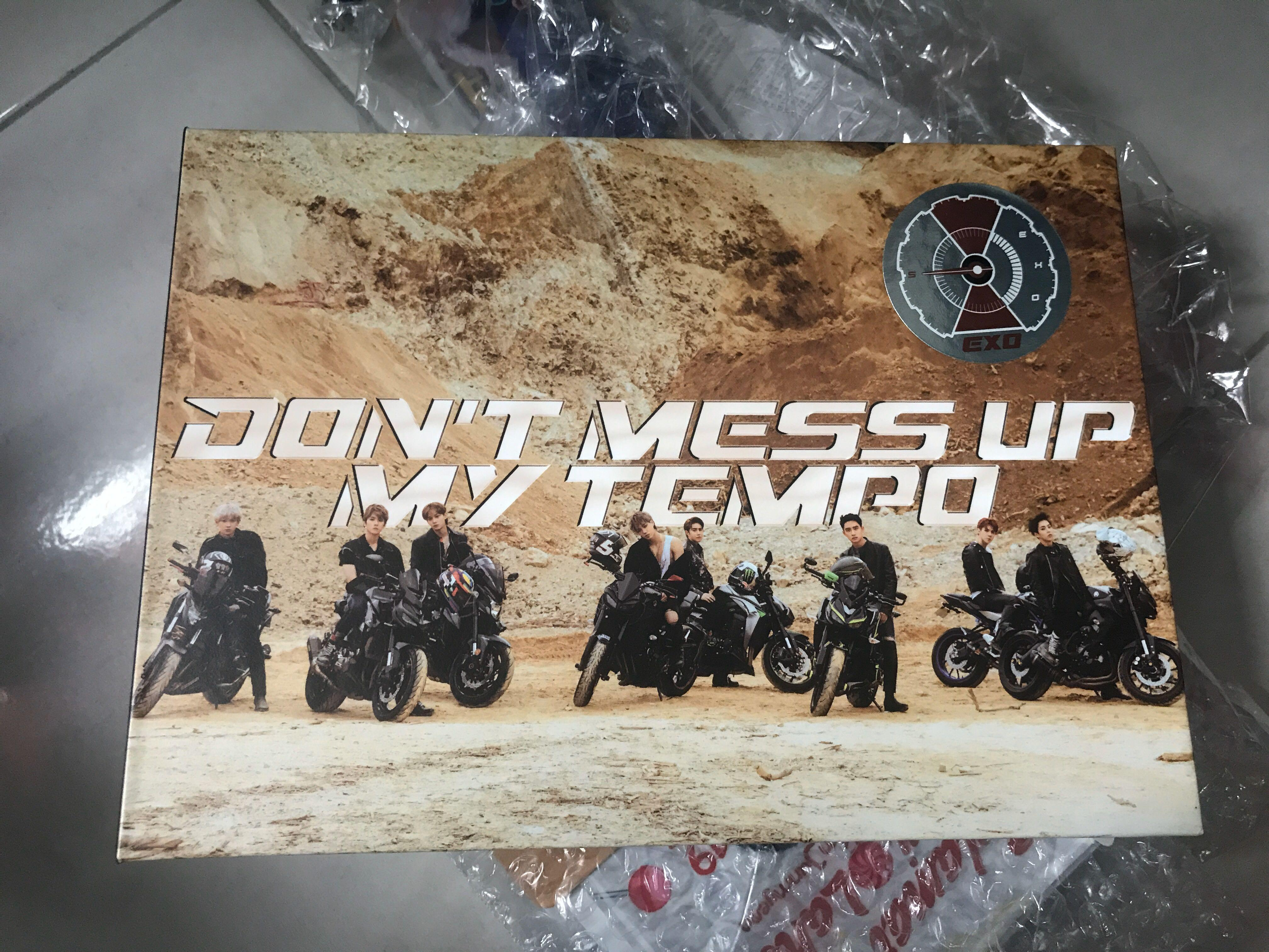 Don't Mess Up My Tempo Andante version #EXO #10Challenge