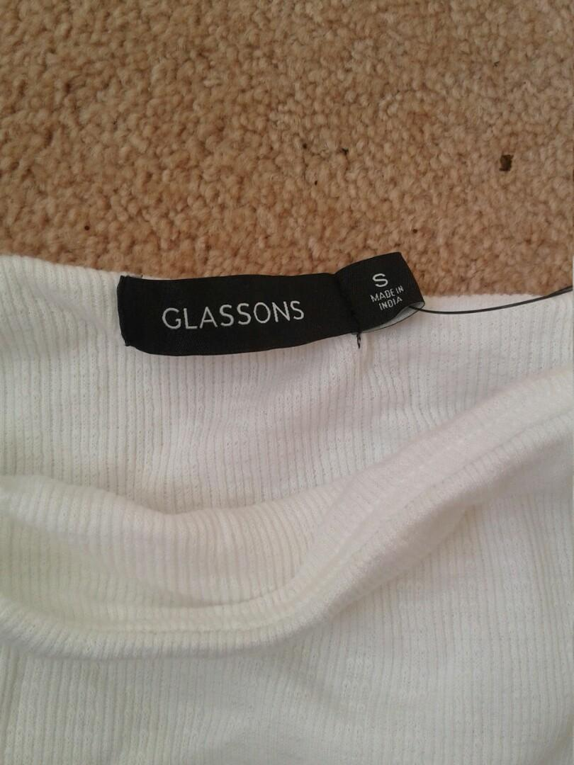 Glassons white tube top