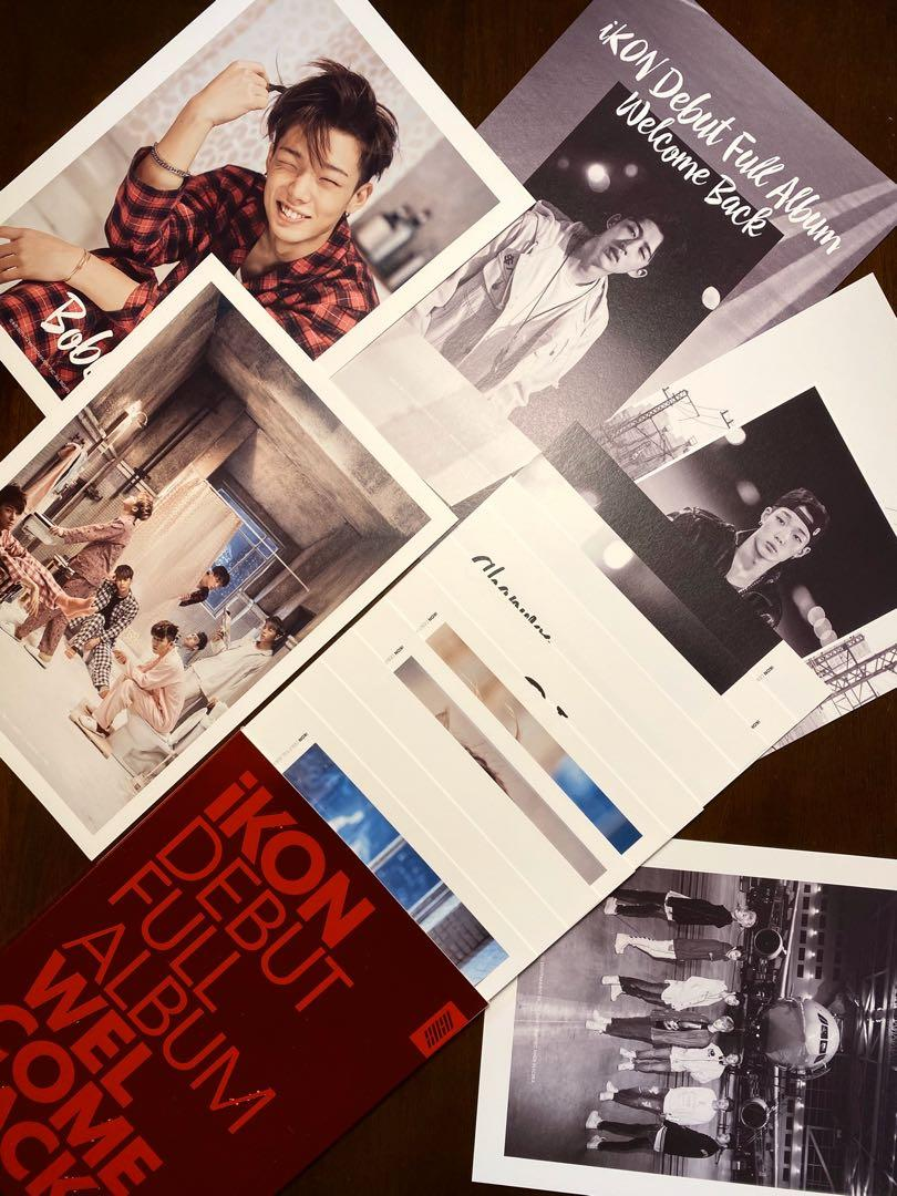 [IKON ALBUM] Welcome Back Debut Full Album (Free Shipping!)