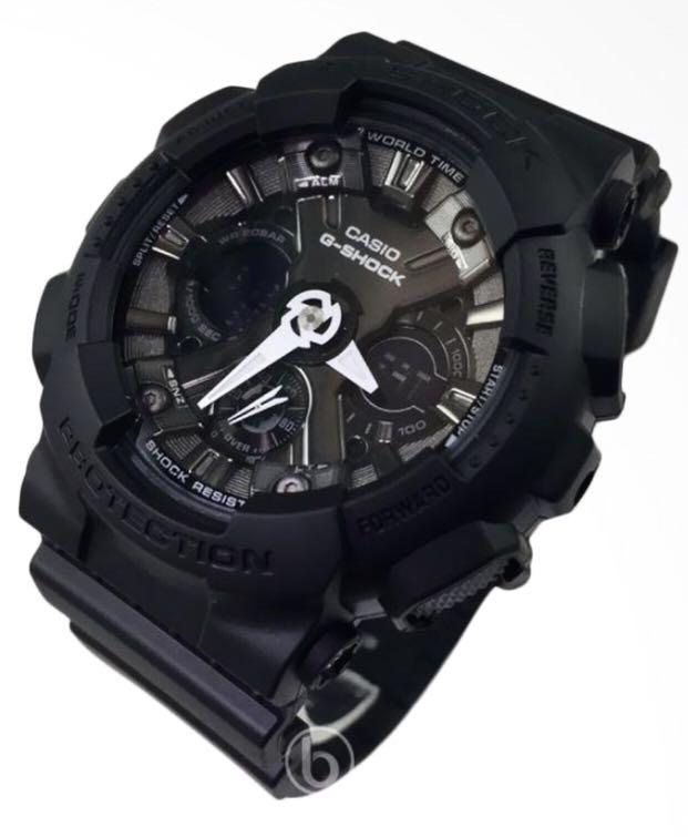 NEW🌟MINI GSHOCK UNISEX DIVER WATCH : 100% ORIGINAL AUTHENTIC CASIO G-SHOCK ( BABYG ) : GMA-S120MF-1A (FULL BLACK STEALTH MATT)