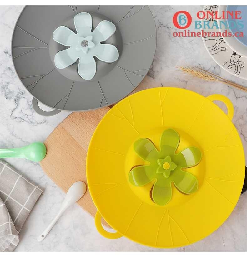 Silicone lid Spill Stopper Cover | Free Shipping | Online Brands | Kitchen stuff