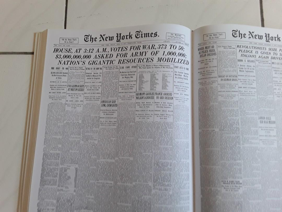 THE COMPLETE FRONT PAGES OF THE NEW YORK TIMES 1851-2008 INCLUDING 3 DVD-ROMs