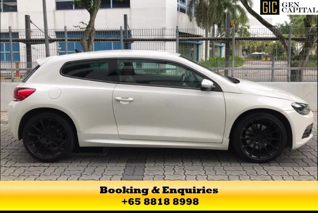 Volkswagen Scirocco - Stay isolated with you and your love ones to combat covid-19! #sgunited
