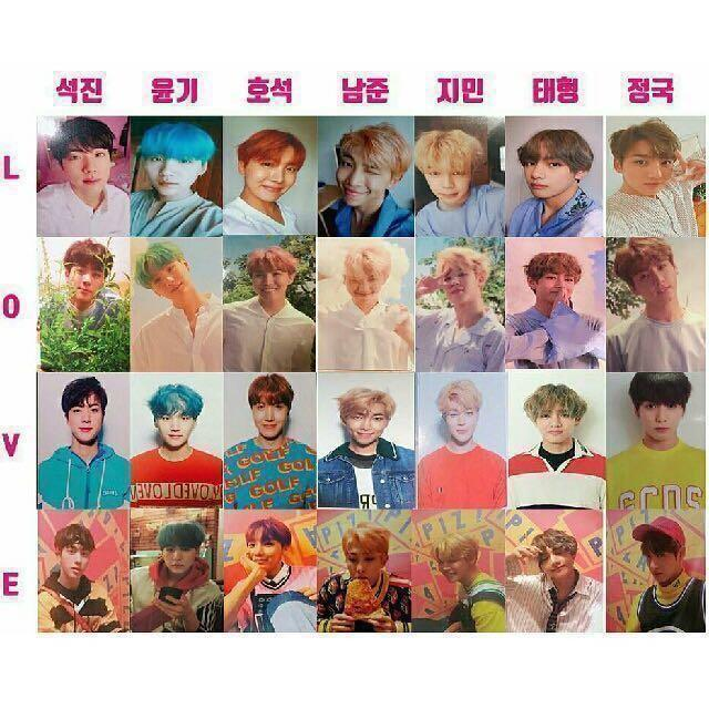 [WTB] BTS LOVE YOURSELF 'HER' & 'ANSWER' PHOTOCARDS