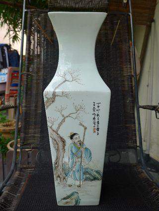 Old porcelain vase
