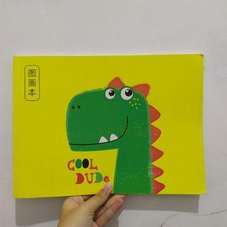 Buku sketsa/gambar