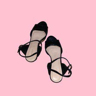 Urban & Co Black Heels