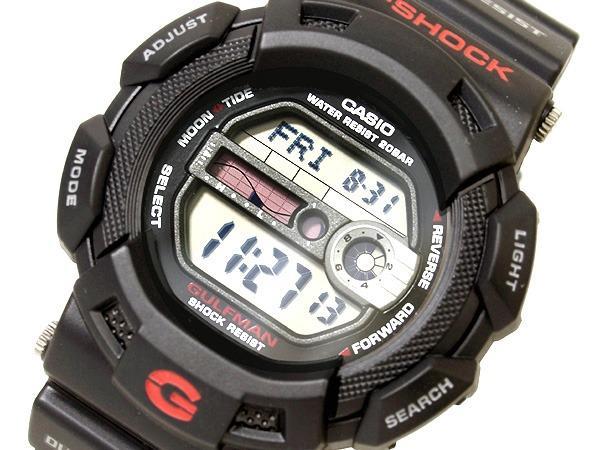 Casio G-Shock GULFMAN digital watch black foreign countries (FROM JAPAN ORIGINAL)