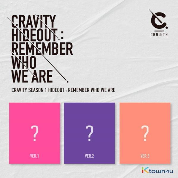CRAVITY - Album SEASON1. [HIDEOUT: REMEMBER WHO WE ARE]