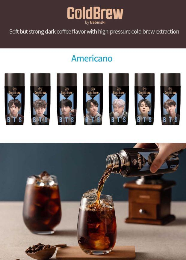 [GROUP ORDER] BTS HOT BREW VANILLA LATTE / COLD BREW AMERICANO