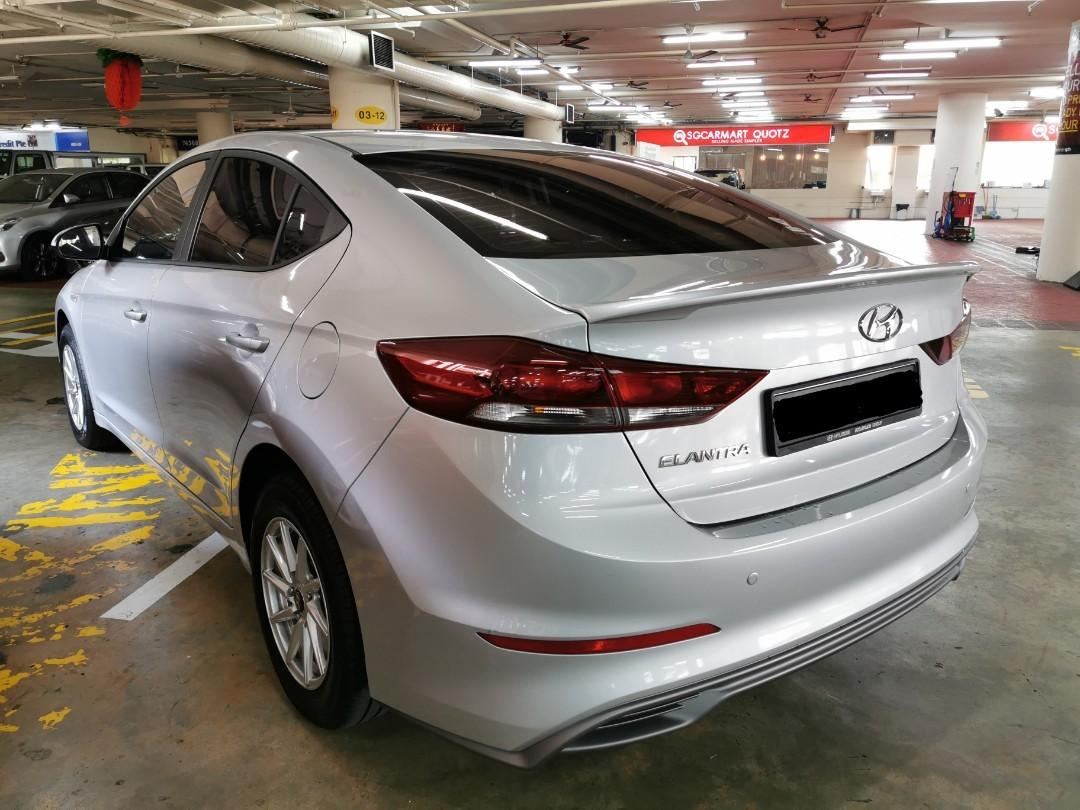 "Hyundai Elantra 1.6A for Rental (Click on ""read more"" for more details)"