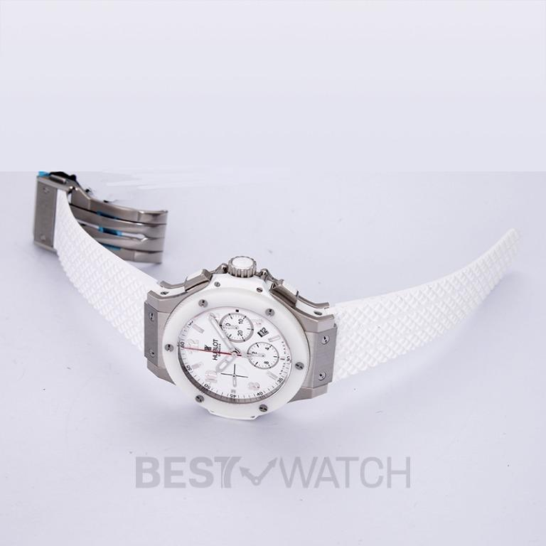 [NEW] Hublot Big Bang St. Moritz Chronograph Automatic White Dial Stainless Steel Unisex Watch 301.SE.230.RW