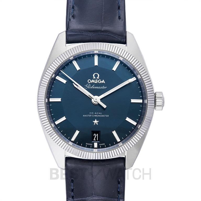 [NEW] Omega Constellation Globemaster Co-Axial Master Chronometer 39 mm Automatic Blue Dial Steel Men's Watch 130.33.39.21.03.001