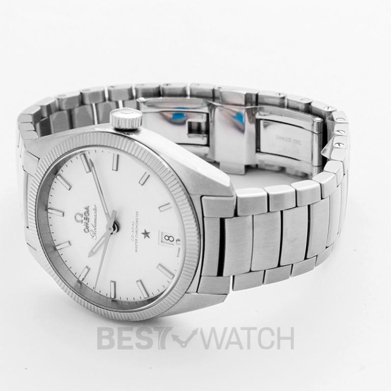 [NEW] Omega Constellation Globemaster Co-Axial Master Chronometer 39mm Automatic Silver Dial Steel Men's Watch 130.30.39.21.02.001