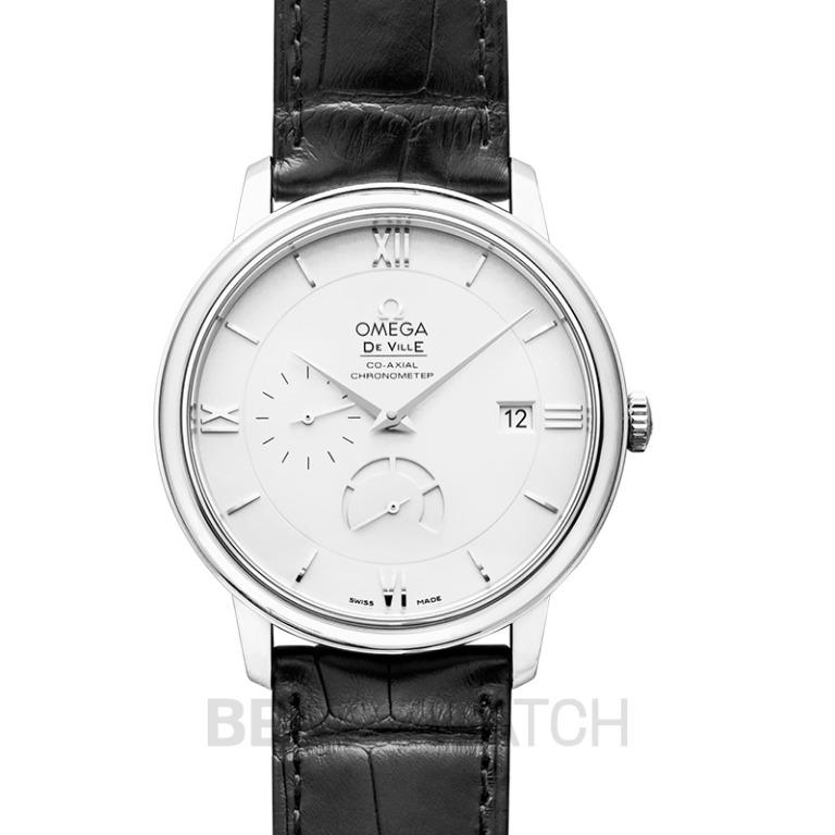 [NEW] Omega De Ville Prestige Co-Axial Power Reserve 39.5mm Automatic Silver Dial Steel Men's Watch 424.13.40.21.02.001