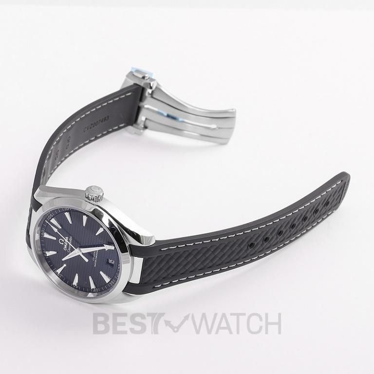 [NEW] Omega Seamaster Aqua Terra 150M Co-Axial Master Chronometer 41mm Automatic Black Dial Steel Men's Watch 220.12.41.21.01.001