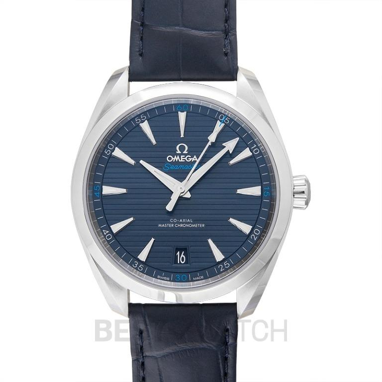 [NEW] Omega Seamaster Aqua Terra 150M Co-Axial Master Chronometer 41 mm Automatic Blue Dial Steel Men's Watch 220.13.41.21.03.001