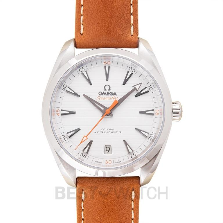 [NEW] Omega Seamaster Aqua Terra 150M Co-Axial Master Chronometer 41mm Automatic Silver Dial Steel Men's Watch 220.12.41.21.02.001