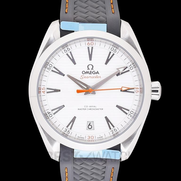 [NEW] Omega Seamaster Aqua Terra 150M Co-Axial Master Chronometer 41 mm Automatic Silver Dial Steel Men's Watch 220.12.41.21.02.002