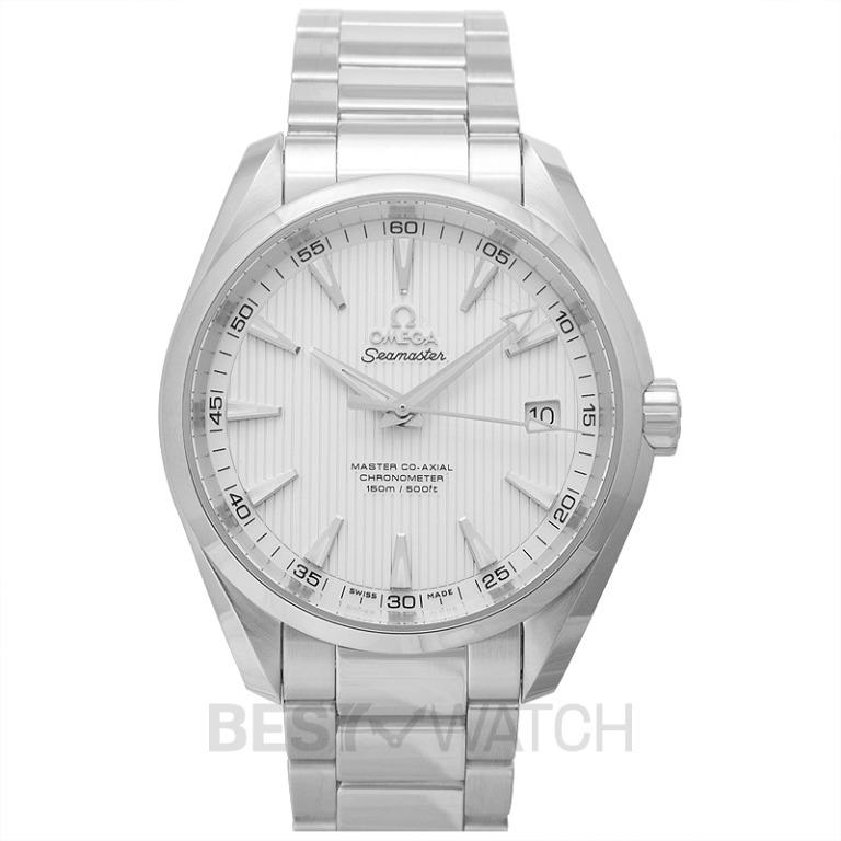 [NEW] Omega Seamaster Aqua Terra 150M Master Co-Axial 41.5mm Automatic Silver Dial Steel Men's Watch 231.10.42.21.02.003