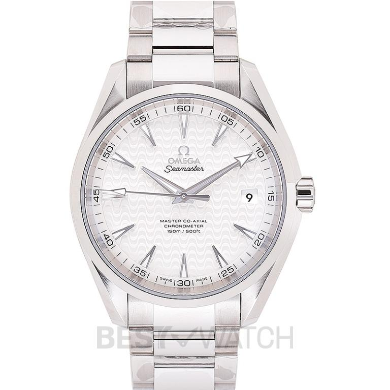 [NEW] Omega Seamaster Aqua Terra 150M Master Co-Axial 41.5mm Automatic Silver Dial Steel Men's Watch 231.10.42.21.02.006