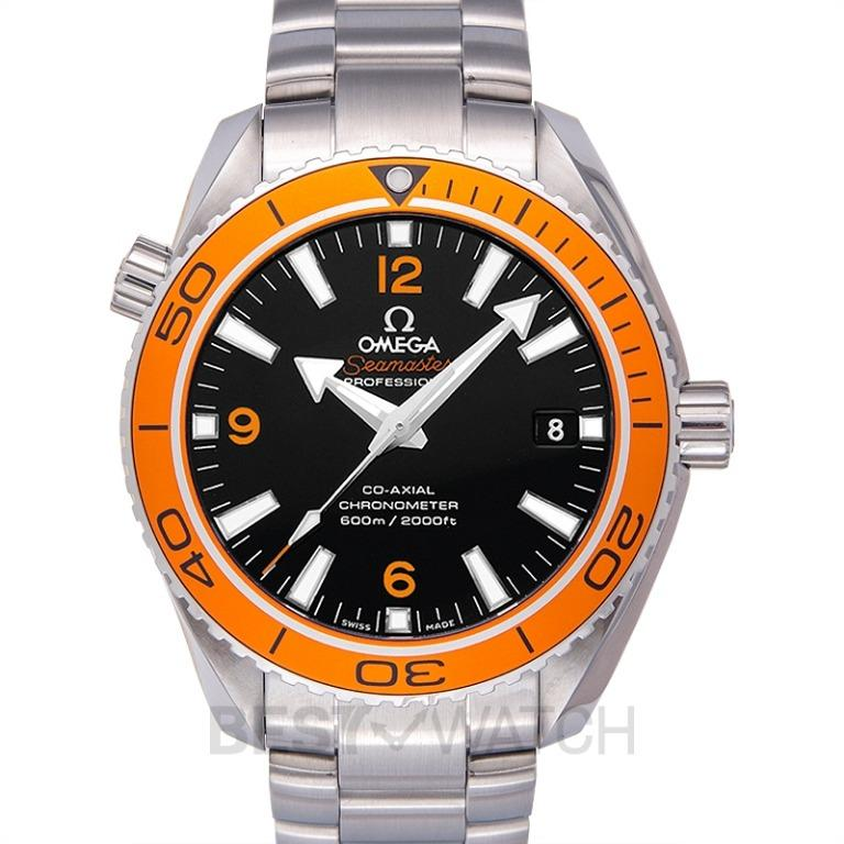 [NEW] Omega Seamaster Planet Ocean 600M Co-Axial 42mm Automatic Black Dial Steel Men's Watch 232.30.42.21.01.002