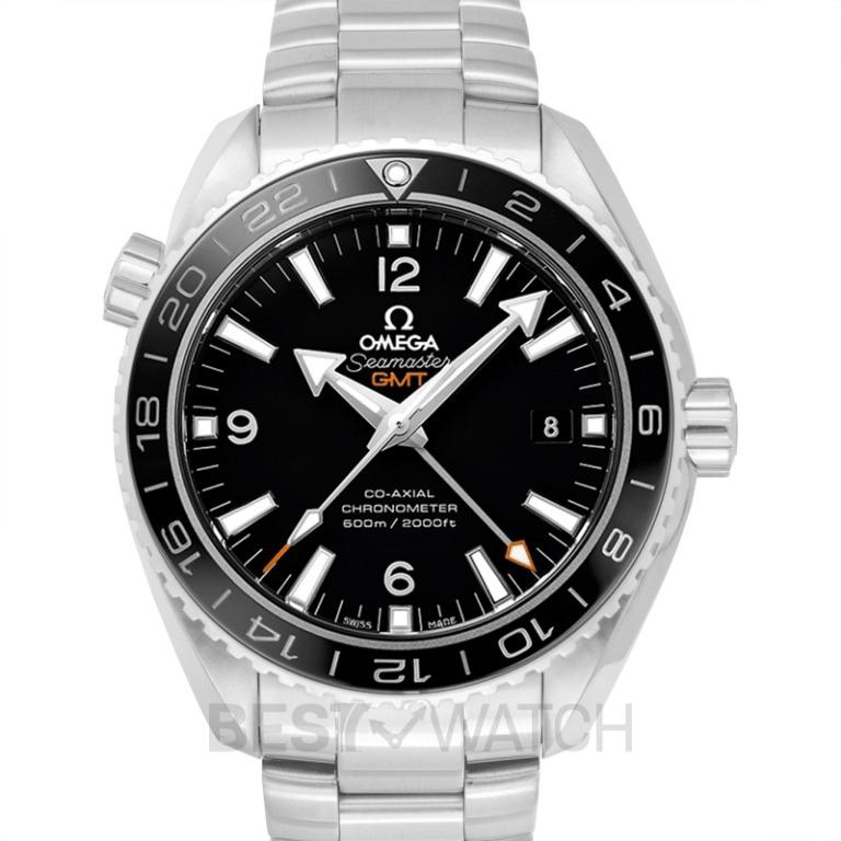 [NEW] Omega Seamaster Planet Ocean 600M Co-axial GMT 43.5 mm Automatic Black Dial Steel Men's Watch 232.30.44.22.01.001