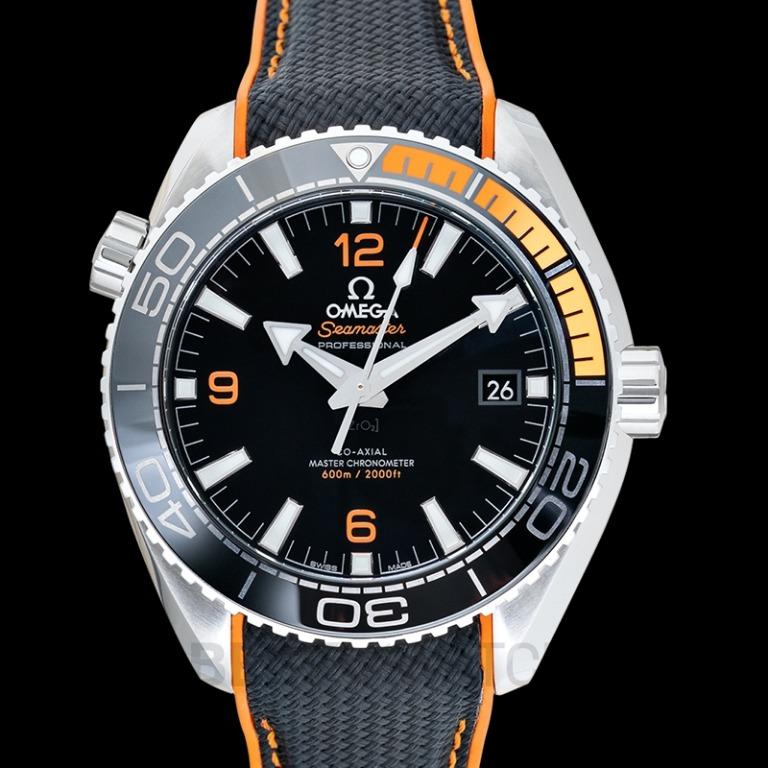 [NEW] Omega Seamaster Planet Ocean 600M Co-Axial Master Chronometer 43.5 mm Automatic Black Dial Steel Men's Watch 215.32.44.21.01.001