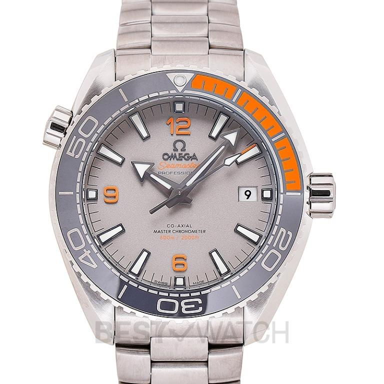 [NEW] Omega Seamaster Planet Ocean 600M Co-Axial Master Chronometer 43.5 mm Automatic Grey Dial Titanium Men's Watch 215.90.44.21.99.001