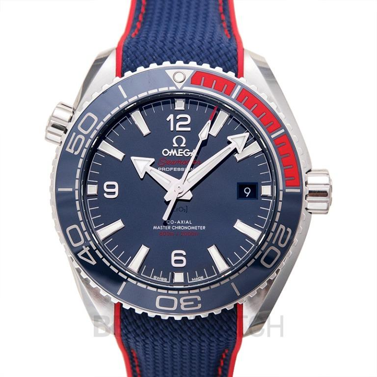 [NEW] Omega Seamaster Planet Ocean 600m Co-Axial Master Chronometer 43.5mm Specialities Olympic Games Collection Automatic Blue Dial Steel Men's Watch 522.32.44.21.03.001