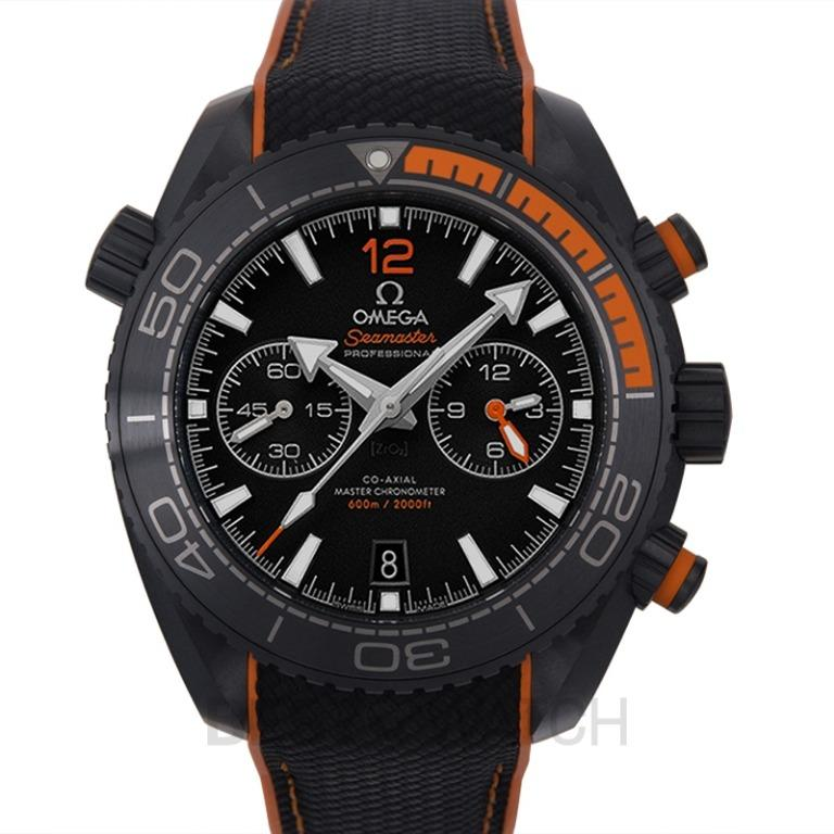 [NEW] Omega Seamaster Planet Ocean 600M Co-Axial Master Chronometer Chronograph 45.5mm Automatic Black Dial Ceramic Men's Watch 215.92.46.51.01.001