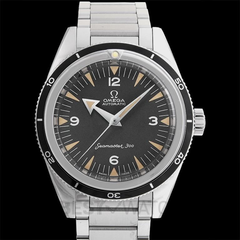 [NEW] Omega Seamaster The Collection Co-Axial Master Chronometer 39 mm Automatic Black Dial Steel Men's Watch 234.10.39.20.01.001