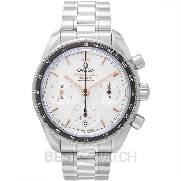 [NEW] Omega Speedmaster Co-Axial Chronograph 38mm Automatic Silver Dial Steel Men's Watch 324.30.38.50.02.001